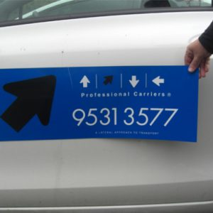 Vehicle Magnetic Signage