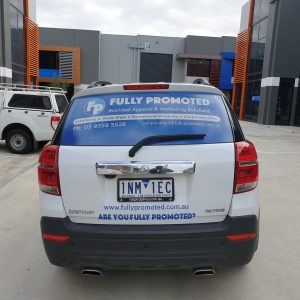 Fully promoted Vehicle Graphics